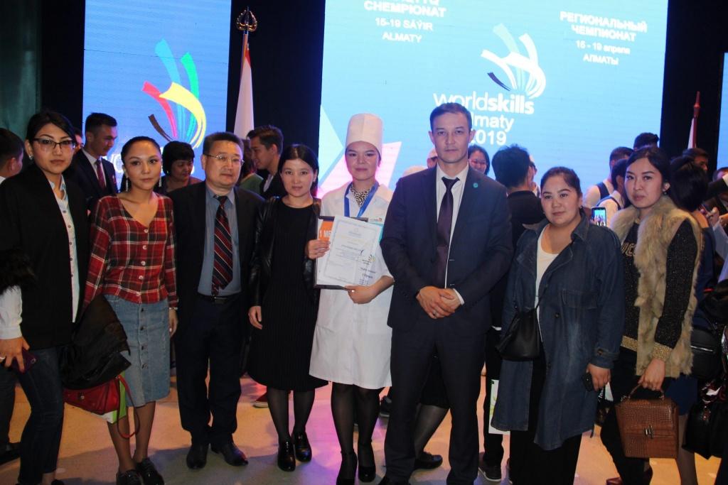"""IMG 5539 1024x683 - Республиканский высший медицинский колледж является инициатором проведения регионального чемпионата """"WorldSkills Almaty 2019""""по компетенции «Медицинский и социальный уход»"""