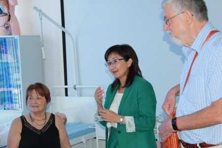 IMG 9127 450x300 - Прибыла госпожа Стана Групп из Германии для проведения мастер-классов по повышению квалификации наших преподавателей