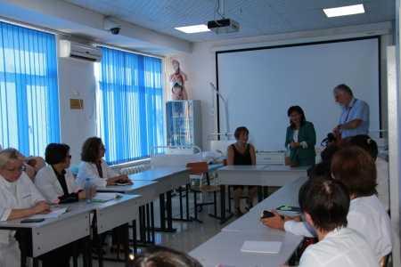 IMG 9129 450x300 - Прибыла госпожа Стана Групп из Германии для проведения мастер-классов по повышению квалификации наших преподавателей