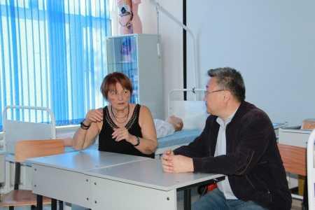 IMG 9137 450x300 - Прибыла госпожа Стана Групп из Германии для проведения мастер-классов по повышению квалификации наших преподавателей