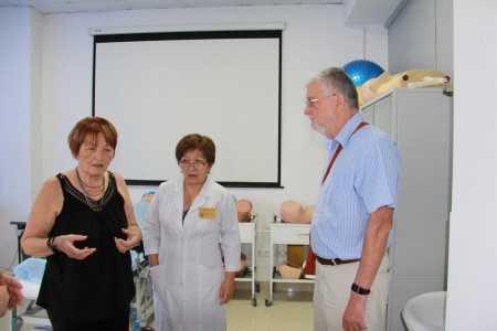 IMG 9152 450x300 - Прибыла госпожа Стана Групп из Германии для проведения мастер-классов по повышению квалификации наших преподавателей