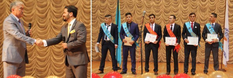 diploma ceremony 2 - 2016 жылғы колледж түлектеріне диплом табысталды