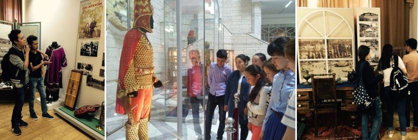 museum 2 - ҚР Тәуелсіздігінің 25 жылдығына орайластырылған  қала мұражайларына экскурсия