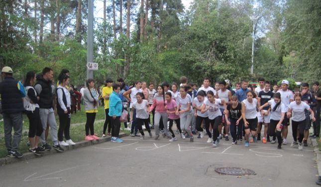 spartaiada - Алматы қаласы колледждері арасындағы XXII спартакиаданың ашылуы